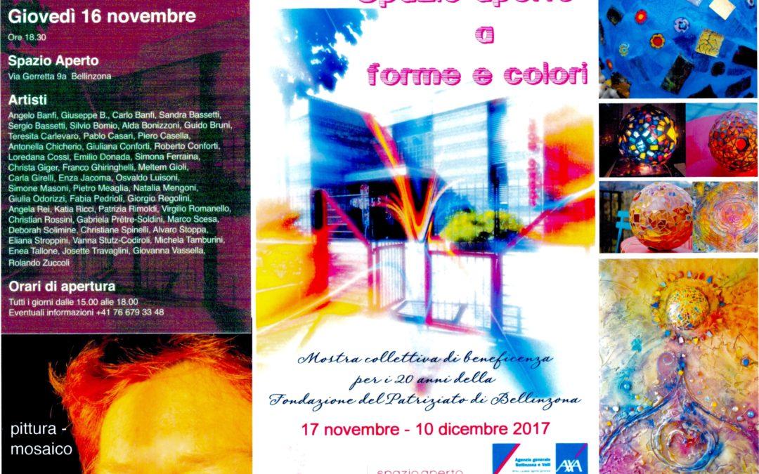 Mostra d'arte collettiva – Bellinzona 2017
