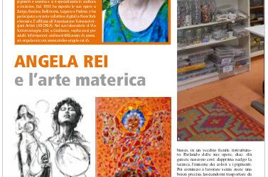 Rivista LA TURRITA: MICROFONO APERTO Angela Rei e l'arte materica